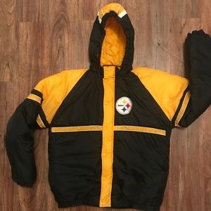 Steelers Puffer Jacket - Youth Size 18